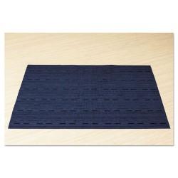 Office Settings - VPMBL - Office Settings Placemats - Desktop - 12 Length x 17 Width - Rectangle - Vinyl - Blue