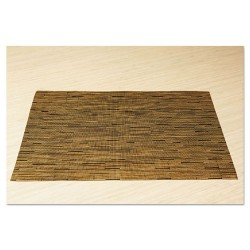Office Settings - VPMCM - Office Settings Placemats - Desktop - 12 Length x 17 Width - Rectangle - Vinyl - Camel