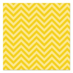 Pacon - 0055805 - Fadeless Designs Bulletin Board Paper, Chic Chevron Yellow, 48 x 50 ft.