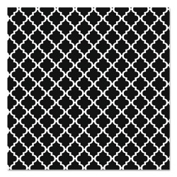 Pacon - 0055855 - Fadeless Designs Bulletin Board Paper, Classic Moroccan Black, 48 x 50 ft.