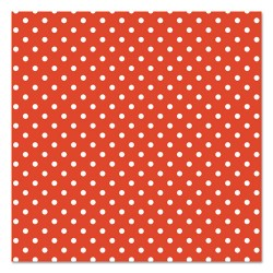 Pacon - 0057405 - Fadeless Designs Bulletin Board Paper, Classic Dots Red, 48 x 50 ft.