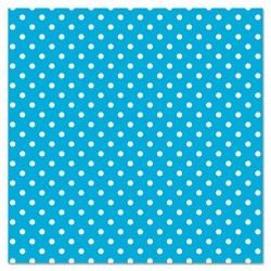 Pacon - 0057425 - Fadeless Designs Bulletin Board Paper, Classic Dots Aqua, 48 x 50 ft.