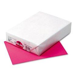 Pacon - 02052 - Riverside Kaleidoscope Multi-Purpose Laser/Inkjet Paper - Letter - 8 1/2 x 11 - 24 lb Basis Weight - 500 / Ream - Hot Pink