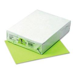 Pacon - 02053 - Riverside Kaleidoscope Multi-Purpose Laser/Inkjet Paper - Letter - 8 1/2 x 11 - 24 lb Basis Weight - 500 / Ream - Lime