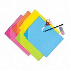Pacon - 1709 - Colorwave Super Bright Tagboard, 9 x 12, Assorted Colors, 100 Sheets/Pack