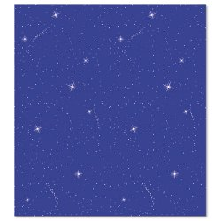 Pacon - 0056225 - Fadeless Designs Bulletin Board Paper, Night Sky, 48 x 50 ft.