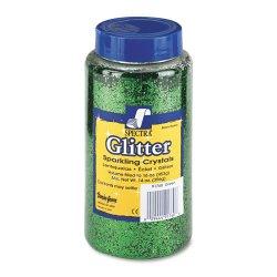Pacon - 91760 - Spectra Glitter Sparkling Crystals - 16 oz - 1 Each - Green