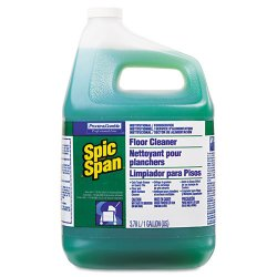 Procter & Gamble - 16900129 - Spic and Span Floor and Multi-surface Cleaner - Liquid - 1 gal (128 fl oz) - 1 Each - Green