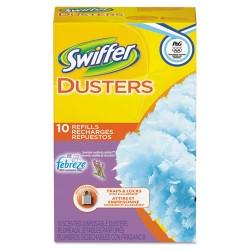 Procter & Gamble - 21461 - Refill Dusters, DustLock Fiber, Light Blue, Lavender Vanilla Scent, 10/Bx, 4Bx/Ctn