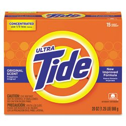Procter & Gamble - 27782 - Tide Ultra Powder 20 Oz.15 Loads Original Scent