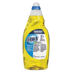 Procter & Gamble - 45113 - Dawn Manual Pot/Pan Detergent - Liquid - 0.30 gal (38 fl oz) - Lemon Scent - 1 Bottle - Yellow
