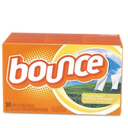 Procter & Gamble - 80168 - Bounce Dryer Sheets - Wipe - 160 / Box - Orange
