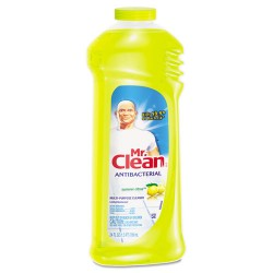 Procter & Gamble - 82707 - Mr. Clean Antibacterial Cleaner - Liquid - 24 oz (1.50 lb) - Citrus Scent - 1 / Each - Yellow