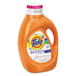 Procter & Gamble - 87546 - Tide Plus Bleach Lndry Detergent - Liquid - 0.72 gal (91.97 fl oz) - Original Scent - 1 / Bottle - Orange
