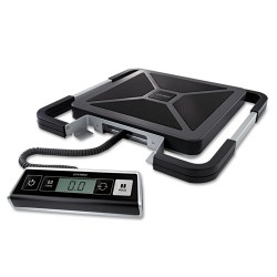 "DYMO - 1776112 - Dymo Pelouze 250lb Digital USB Shipping Scale - 250 lb / 113 kg Maximum Weight Capacity - 2"" Maximum Height Measurement - Black, Silver"