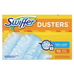 Procter & Gamble - 21459BX - Refill Dusters, Dust Lock Fiber, Light Blue, Unscented, 10/Box