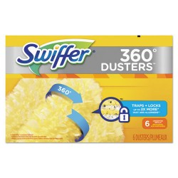 Procter & Gamble - 21620 - 360 Dusters Refill, Dust Lock Fiber, Yellow, 6/Box, 4 Box/Carton