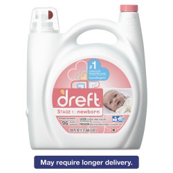 Procter & Gamble - 80377 - Ultra Laundry Detergent, Liquid, Baby Powder Scent, 150 oz Bottle, 4/Carton