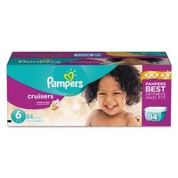Procter & Gamble - 10037000862854 - Cruisers Diapers, Size 6: 35 - 43 lbs, 84/Carton