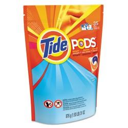 Procter & Gamble - 00037000892588 - Pods, Laundry Detergent, Ocean Mist, 35/Pack, 4 Pack/Carton