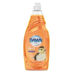 Procter & Gamble - 91695 - Dawn Ultra Antibacterial Dish Liquid - Liquid - 0.27 gal (34.20 fl oz) - Orange Scent - 1 / Bottle - Orange
