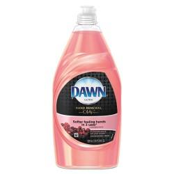Procter & Gamble - 91708EA - Ultra Hand Renewal Dishwashing Liquid With Olay, Pomegranate Splash, 28oz Bottle