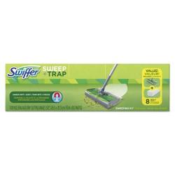 Procter & Gamble - 92713 - Swiffer Sweep/Trap Sweeping Kit - 1 Kit