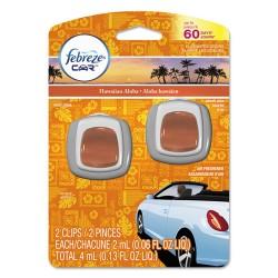 Procter & Gamble - 94734PK - CAR Air Freshener, Hawaiian Aloha, 2 ml Clip, 2/Pack