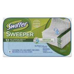 Procter & Gamble - 95531 - Wet Refill Cloths, Open Window Fresh, Cloth, White, 8x10, 12/Tub, 12Tub/Carton