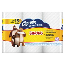 Procter & Gamble - 96892PK - Essentials Strong Bathroom Tissue, 1-Ply, 4 x 3.92, 300/Roll, 6 Roll/Pack