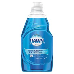 Procter & Gamble - 97405 - Dawn Ultra Original Dish Liquid - Concentrate Liquid - 8 fl oz - Pleasant Scent - 18 / Carton - Blue
