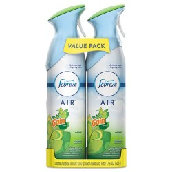 Procter & Gamble - 97810PK - AIR, Gain Original, 8.8 oz Aerosol, 2/Pack