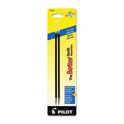 Pilot Pen - 77216 - Pilot BPS Easy Touch Ballpoint Pen Refill - 0.70 mm - Blue - 2 / Pack