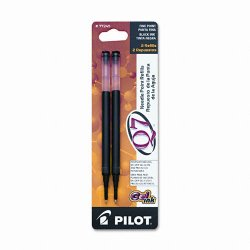 Pilot Pen - 77245 - Pilot Q7 Retractable Needle Gel Refill - 0.70 mm - Black - 2 / Pack