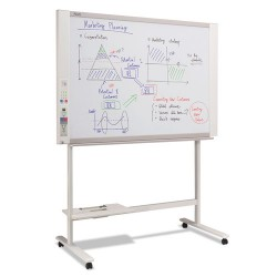 Plus Corporation Of America - N-314 - N-314 Series Electronic Copyboard, 58 3/10w x 39 2/5h, White/Beige