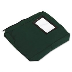 PM Company - 04646 - PM SecurIT Reusable Expanding Transit Sack - 14 Width x 11 Length - 3 Gusset - Dark Green - 1Each - Mailing