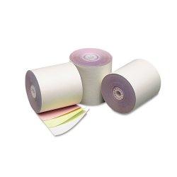 PM Company - 07638 - PM Carbonless Paper - 3 x 840 - 50 / Carton - White