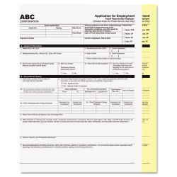 PM Company - 59101 - PM Laser, Inkjet Print Carbonless Paper - Letter - 8 1/2 x 11 - 20 lb Basis Weight - 2500 / Carton - White, Yellow