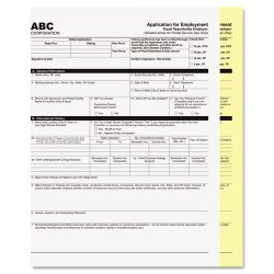 PM Company - 59104 - PM Inkjet, Laser Print Carbonless Paper - Letter - 8 1/2 x 11 - 20 lb Basis Weight - 92 Brightness - 2500 / Carton - White, Yellow