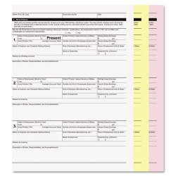 PM Company - 59105 - PM Laser, Inkjet Print Carbonless Paper - Letter - 8 1/2 x 11 - 20 lb Basis Weight - 835 / Carton - White, Yellow, Pink