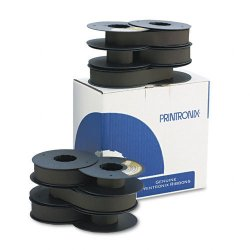 Printronix - 179006-001 - Printronix Black Ribbon - Dot Matrix - Million Characters - 6 / Pack