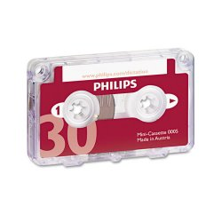 Philips - LFH0005 - Philips Mini Cassette 30 minutes - 10 x 30 Minute