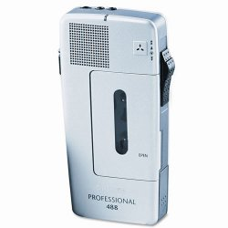 Philips - LFH0488/00B - Philips Speech PM488 Pocket Memo Recorder - Headphone - Portable
