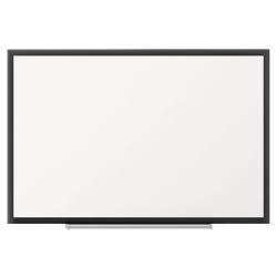 Acco Brands - 2543B - Classic Porcelain Magnetic Whiteboard, 36 x 24, Black Aluminum Frame