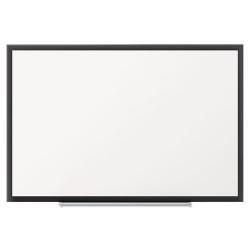 Acco Brands - 2543B - Classic Porcelain Magnetic Whiteboard, 36 x 24, Black Aluminum Frame