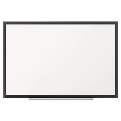 Acco Brands - 2544B - Classic Porcelain Magnetic Whiteboard, 48 x 36, Black Aluminum Frame