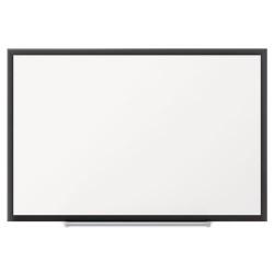 Acco Brands - 2544B - Classic Porcelain Magnetic Whiteboard, 48 x 36, Black Aluminum Frame
