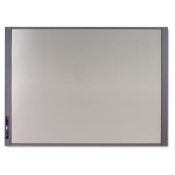 Acco Brands - 72981 - InView Custom Whiteboard, 48 x 36, Graphite Frame