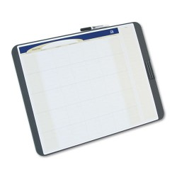 Acco Brands - CT2317 - Tack & Write Monthly Calendar Board, 23 x 17, White Surface, Black Frame