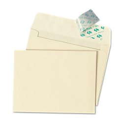Quality Park - 10741 - Quality Park Ivory Greeting Card/Invite Envelopes - Announcement - 4 3/8 Width x 5 3/4 Length - Peel & Seal - 100 / Box - Ivory